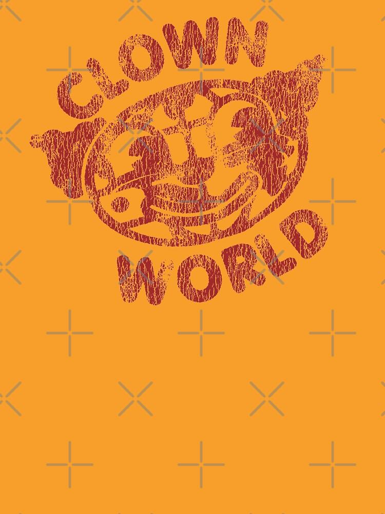 CLOWN WORLD by huffenreuter