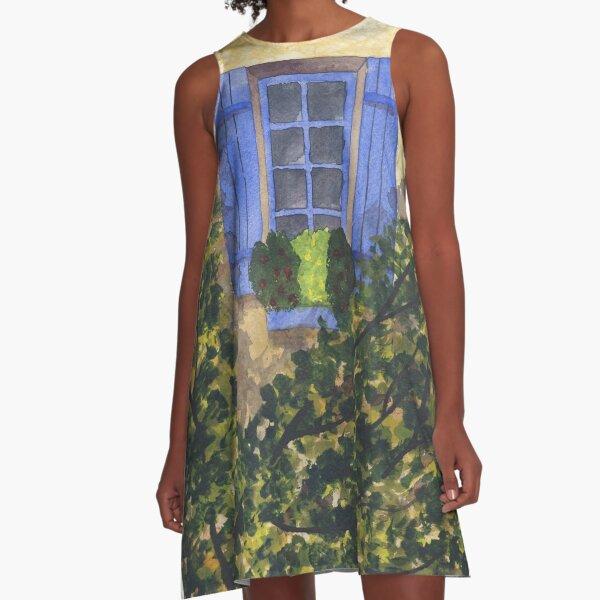 The Blue Window A-Line Dress