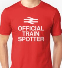 Official Trainspotter Unisex T-Shirt