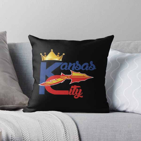 Kansas City Sports Hybrid Fan Gift design Throw Pillow