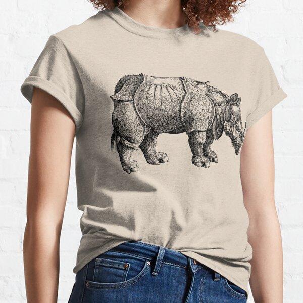Rhinoceros by Albrecht Dürer Classic T-Shirt