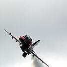 Red Arrow Overhead by gemtrem