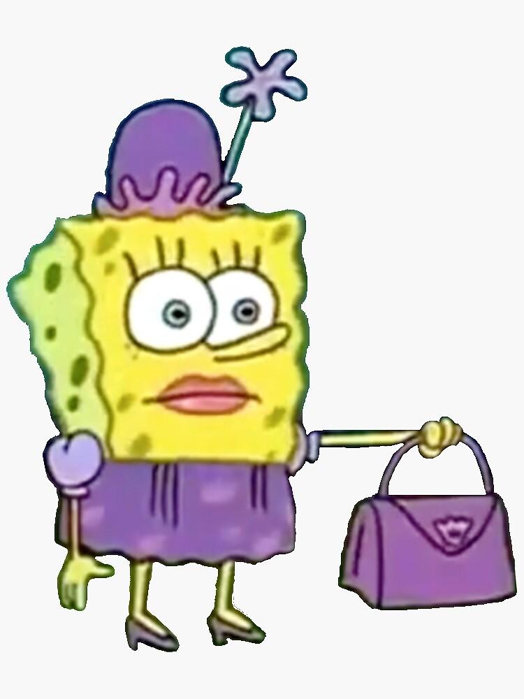 spongebob purse meme by kykyswan