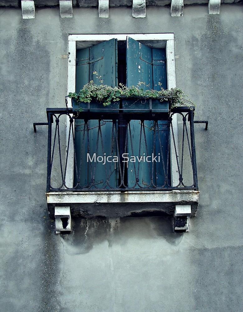 Blue Balcony by Mojca Savicki