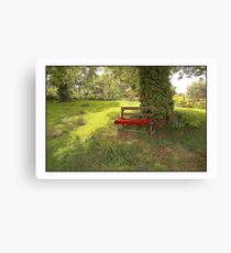 English Country Garden Canvas Print