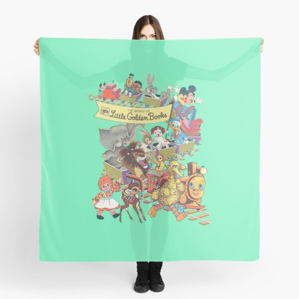 Little Golden Books Scarf
