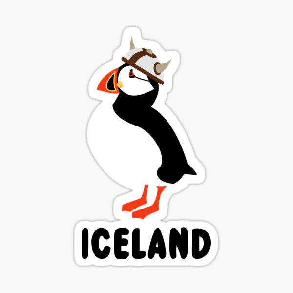 Puffin Viking of Iceland Sticker