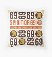 Spirit of 69 Throw Pillow