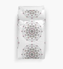6-cube hexeract  Duvet Cover