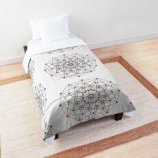 6-cube hexeract  Comforter