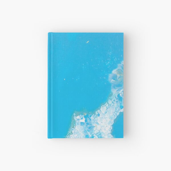 Eye of The Ocean - Abstract Acrylic Painting Hardcover Journal