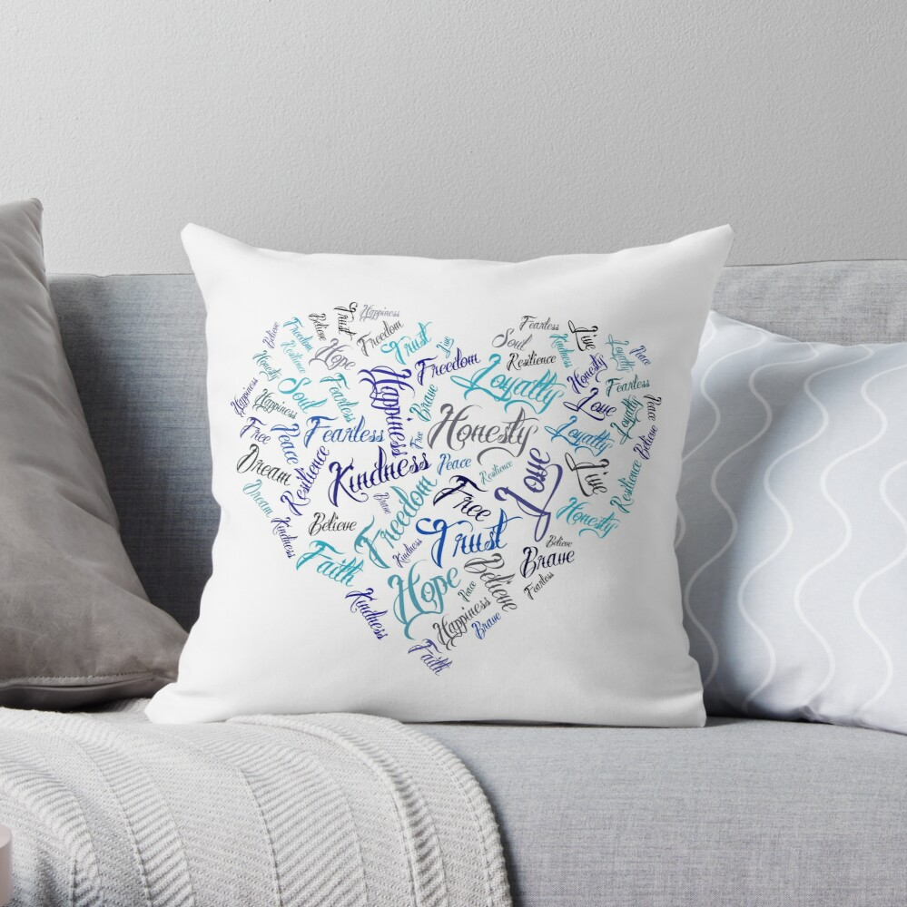 Empower Yourself Throw Pillow
