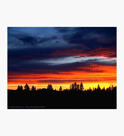 Blaze of Glory Photographic Print