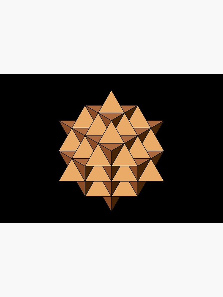 64 Tetrahedron 001 by rupertrussell