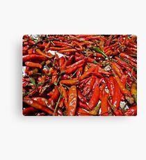 Spicy !!! Canvas Print