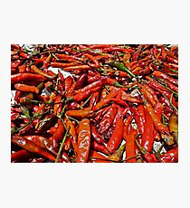 Spicy !!! Photographic Print