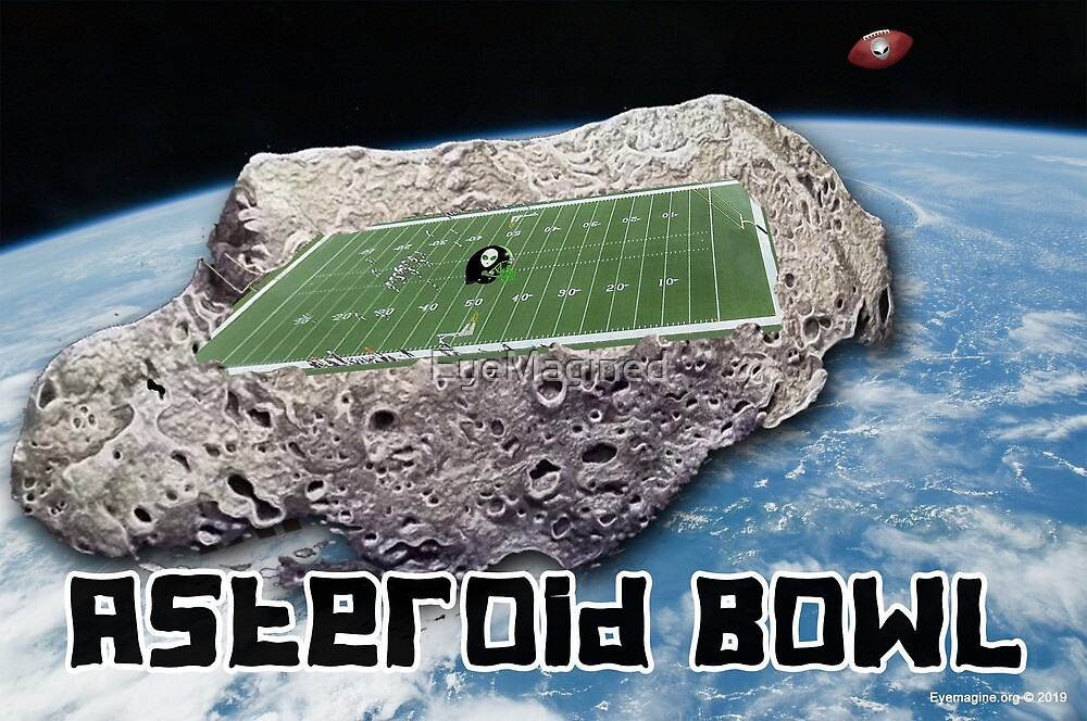 Asteroid Bowl by EyeMagined