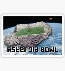 Asteroid Bowl Glossy Sticker
