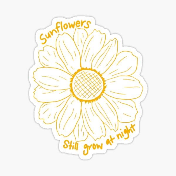 sunflower, Rex Orange County Sticker