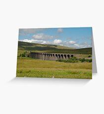Ribble Head Viaduct Greeting Card
