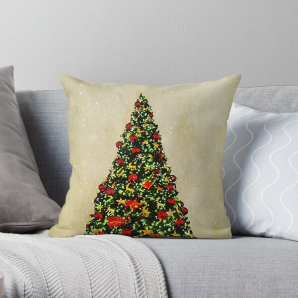 When It's Christmas Time Throw Pillow