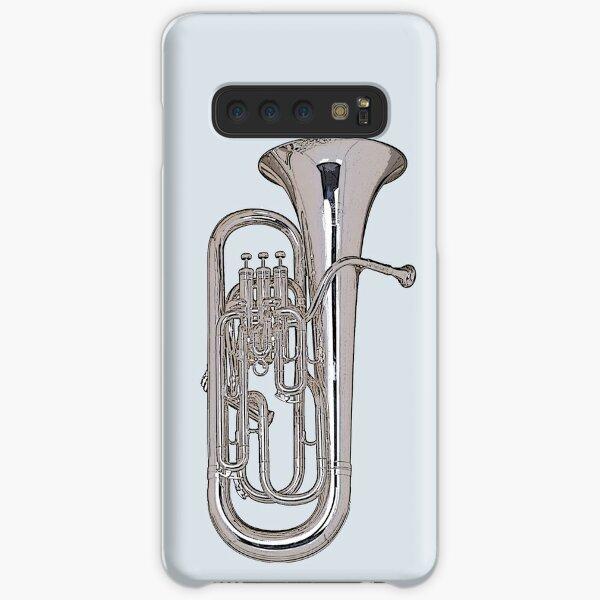 Big Silver Euphonium Samsung Galaxy Snap Case