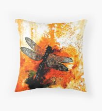The Nature of Things...The Dragonfly Throw Pillow