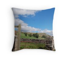 Yorkshire Dales Throw Pillow
