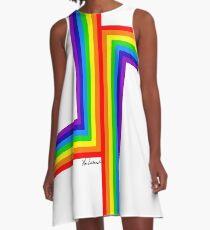 Modern Rainbow A-Line Dress