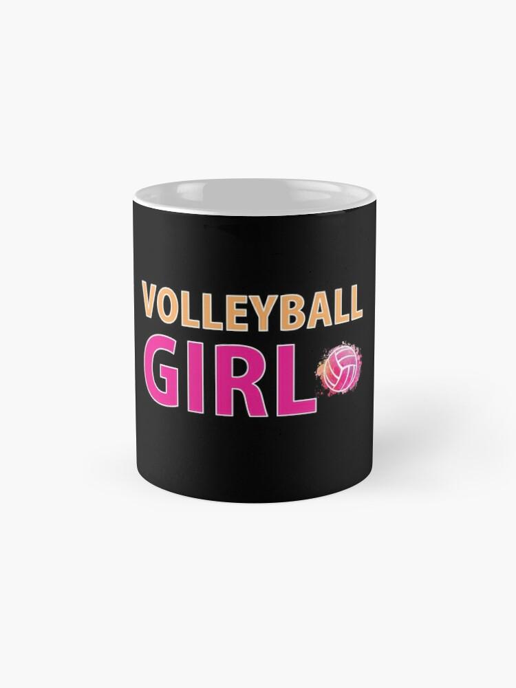Alternative Ansicht von Volleyball Mädchen T-Shirts Sport Frauen Geschenkidee Tasse