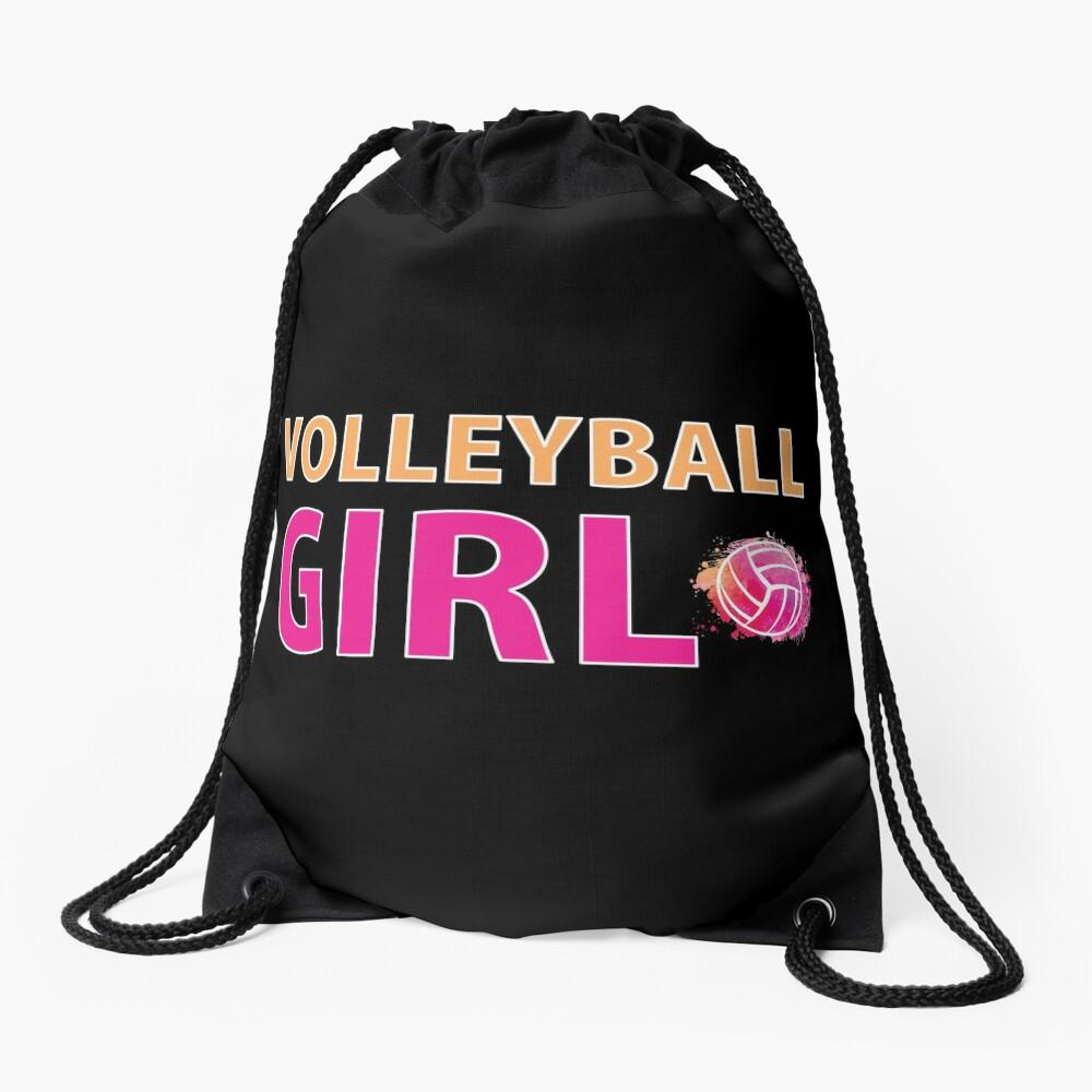 Volleyball Mädchen T-Shirts Sport Frauen Geschenkidee Turnbeutel