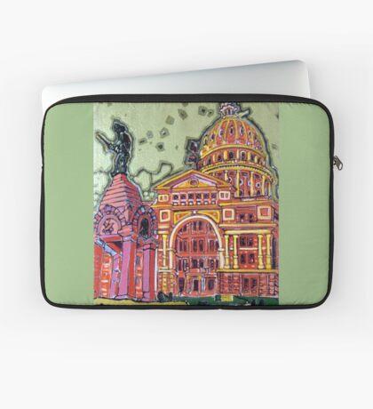 Defense! - Texas State Capitol - Austin, Texas Laptop Sleeve
