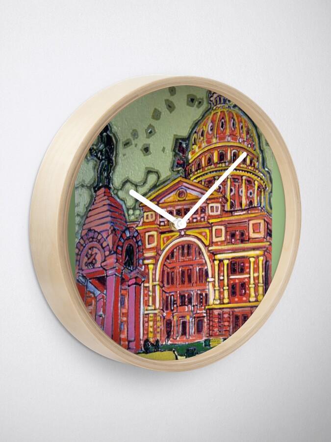 Alternate view of Defense! - Texas State Capitol - Austin, Texas Clock