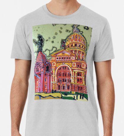 Defense! - Texas State Capitol - Austin, Texas Premium T-Shirt