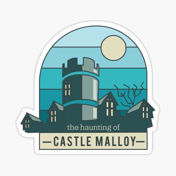 Castle Malloy Vector Art Sticker