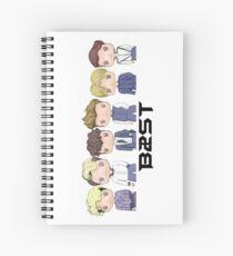 BEAST  ~ First Look (B) Spiral Notebook