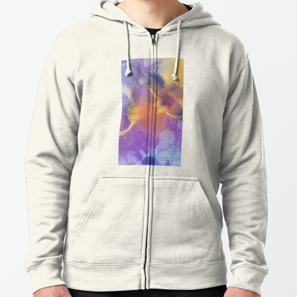 Abstract Art v2 Zipped Hoodie