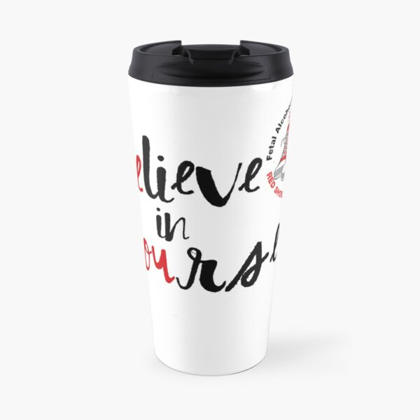 Be You Red Shoes Rock Travel Mug