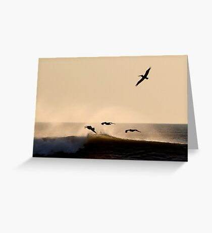 Early Flight Greeting Card