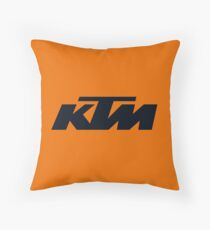 KTM Throw Pillow