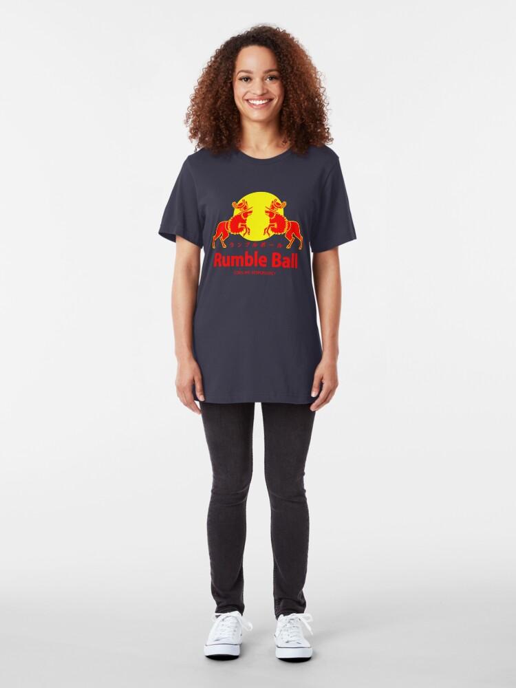 Alternative Ansicht von Rumble Ball Slim Fit T-Shirt