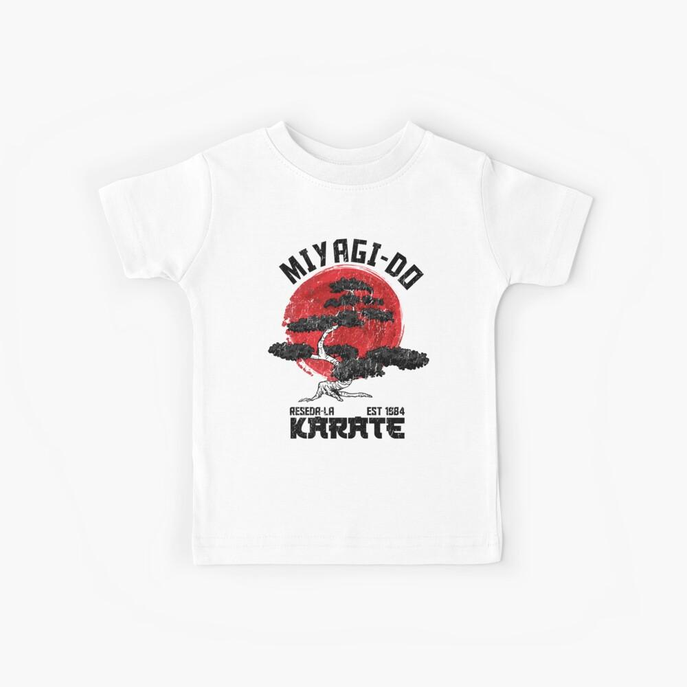 Karate Kid, Kobra Kai T-Shirt, Miyagi-Do Karate T-Shirt, Bonsai Karate Martial Kinder T-Shirt