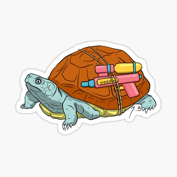Real Squirtle Sticker