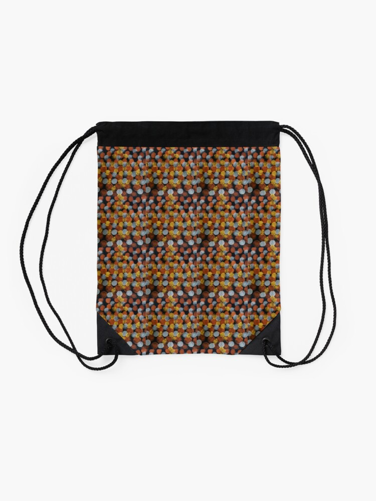 Alternate view of Dats Dots Drawstring Bag