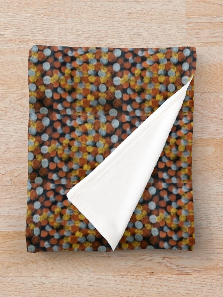 Alternate view of Dats Dots Throw Blanket