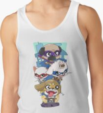 Teenage Mutant Ninja Canines Tank Top