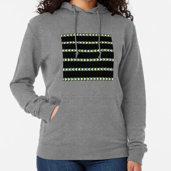 #Pattern, #abstract, #design, #fashion, decoration, repetition, color image,  geometric shape Lightweight Hoodie