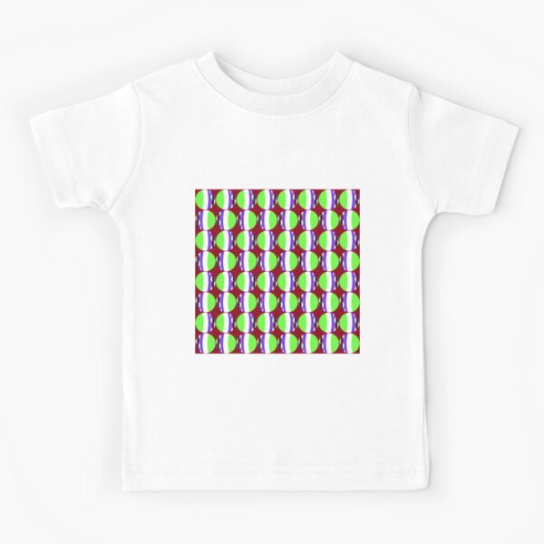 #Pattern, #abstract, #design, #fashion, decoration, repetition, color image,  geometric shape Kids T-Shirt