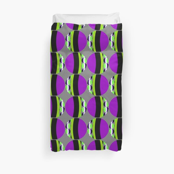 #Pattern, #abstract, #design, #fashion, decoration, repetition, color image,  geometric shape Duvet Cover