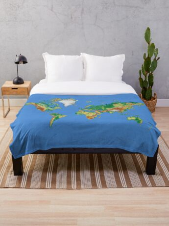 Our World Throw Blanket